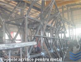 vopsea acrilice pentru metal